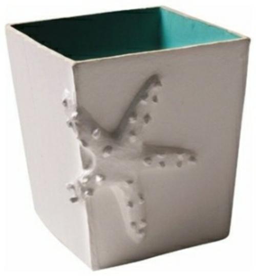 Ideen fürs Papierkorb in Ihrem Büro seestern sonnige tage strand