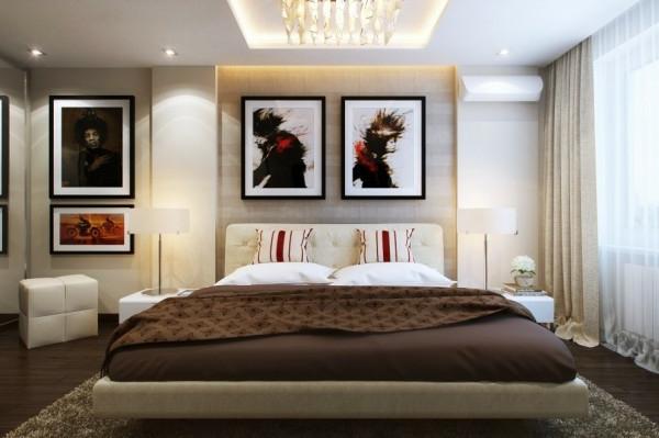 Bilder Für Schlafzimmer Modern | Kleines Schlafzimmer Modern Gestalten Designer Losungen