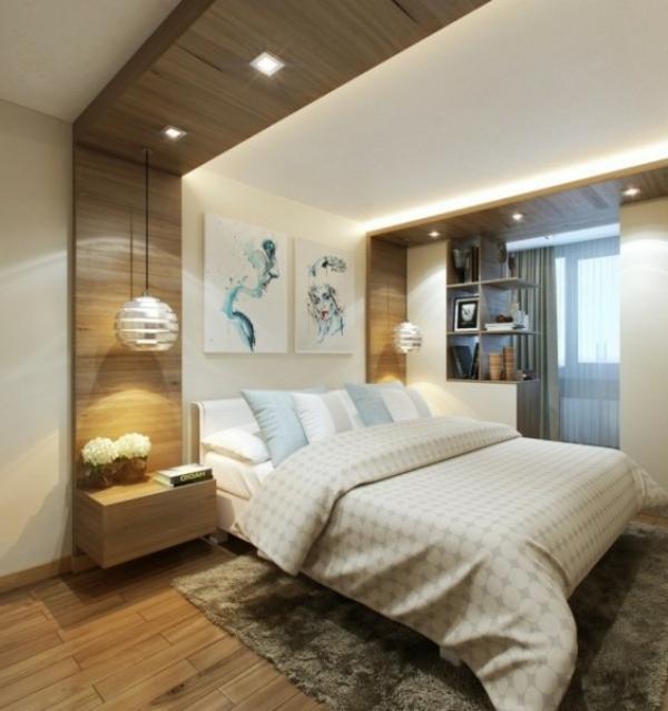 kleines schlafzimmer modern gestalten designer l246sungen
