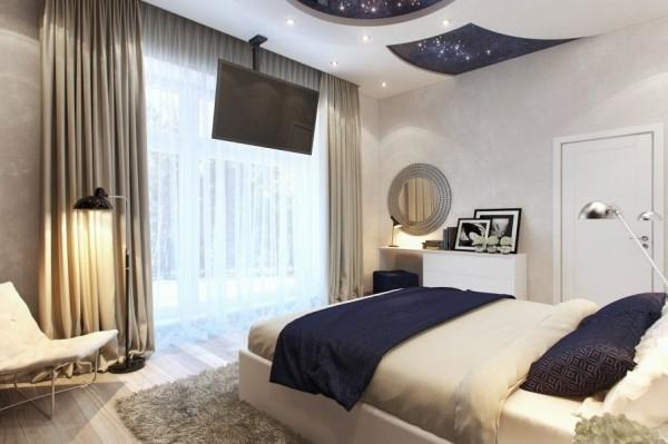 Kleines Schlafzimmer modern gestalten - Designer Lösungen