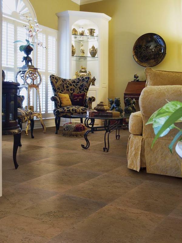 korkboden verlegen der nat rliche bodenbelag. Black Bedroom Furniture Sets. Home Design Ideas