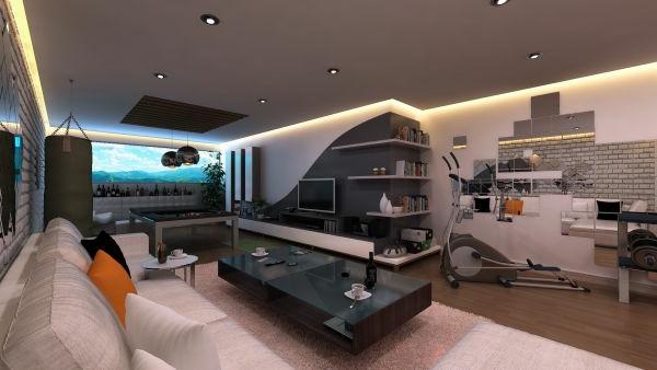 Design Moderne Wohnzimmer Beleuchtung Coole Dumsscom