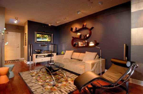 Luxus Wohnzimmer einrichten gemütlich liege
