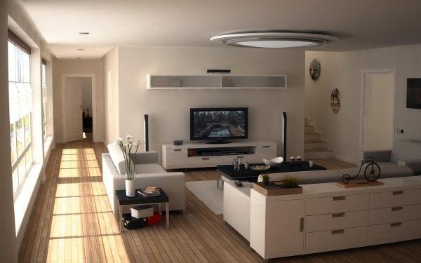 landhaus modern einrichten | badezimmer & wohnzimmer