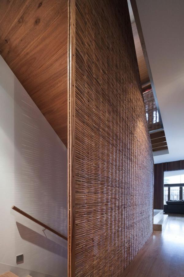moderne residenz mit innendesign aus holz bietet. Black Bedroom Furniture Sets. Home Design Ideas