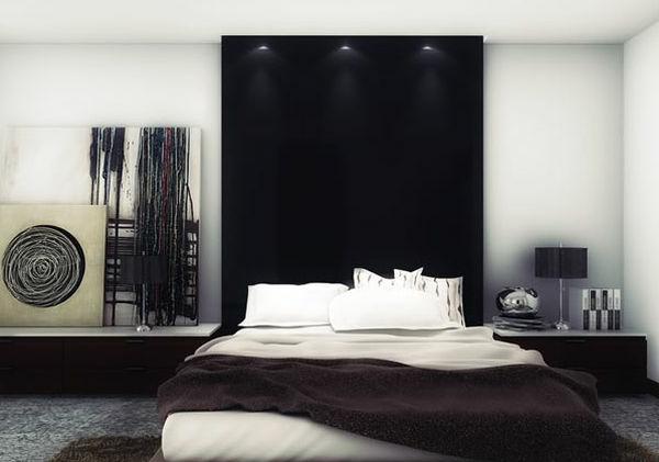 download wohnzimmer gestalten schwarz weis | sohbetzevki, Schlafzimmer ideen