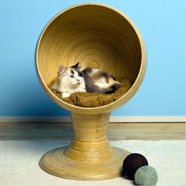 Modernes- Zubehör für Ihre Haustiere holz kugelbett