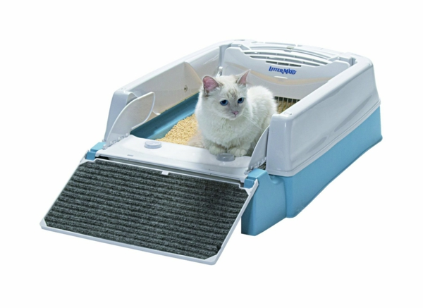 Zubehör für Ihre Haustiere selbstreinigende katzentoilette
