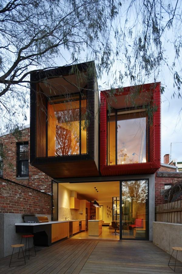 Modernes japanisches einfamilienhaus nachhaltige architektur - Architektur einfamilienhaus modern ...