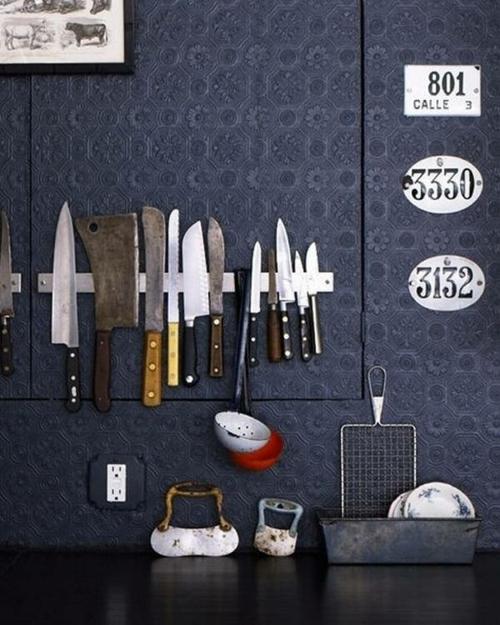 Organisation und Ordnung im Haushalt besteck messer