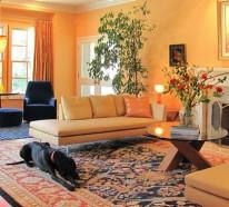 Das Interieur mit Farben bedecken – Wie die Farben die Laune in Ihrem Haus beeinflussen