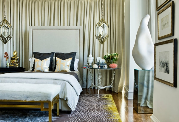 silber und gold bei der inneneinrichtung glanz und schein. Black Bedroom Furniture Sets. Home Design Ideas