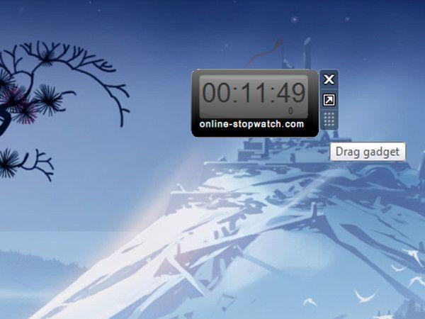 Stopwatch kostenfreie gadgets für windows 7