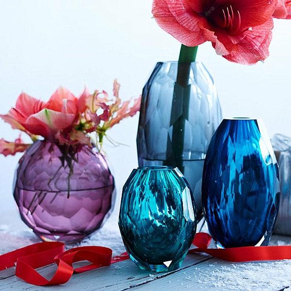 Strahlende Wohnideen für die festliche Winterzeit glas bunt