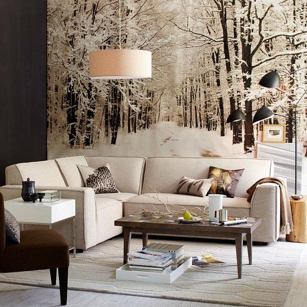 lende Wohnideen für die festliche Winterzeit tapeten