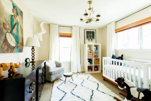Teppiche aus Marokkozu Hause kinderzimmer eklektisch weiß