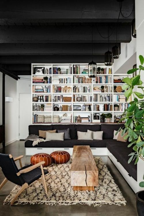 Teppiche aus Marokko zu Hause wandregale dekoartikel zimmerdecke