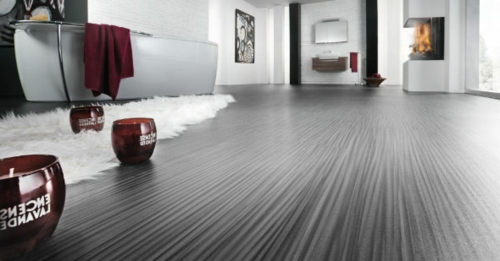 Vinyl Bodenbelag textur dauerhaft grau bodenläufer weich weiß