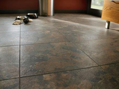 Vinyl Bodenbelag textur fliesen rustikal fußboden