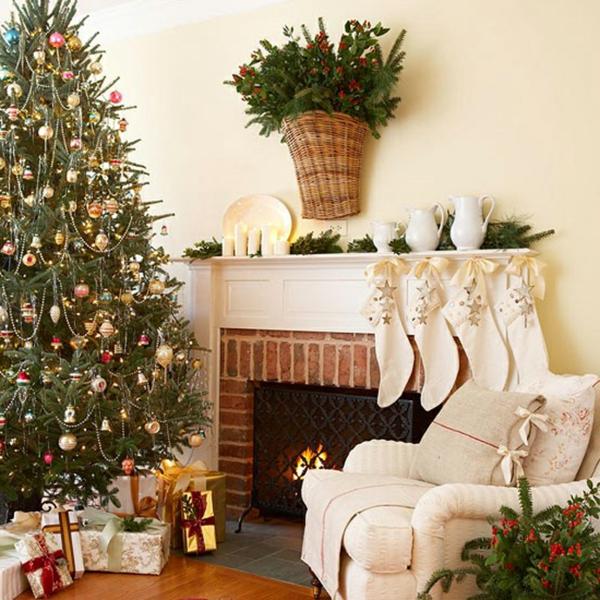 Weihnachtsdekoration für künstlichen weihnachtsbaum   25 wohnideen