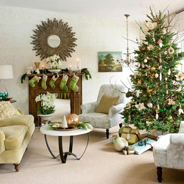 weihnachtsdekoration f r k nstlichen weihnachtsbaum 25 wohnideen. Black Bedroom Furniture Sets. Home Design Ideas