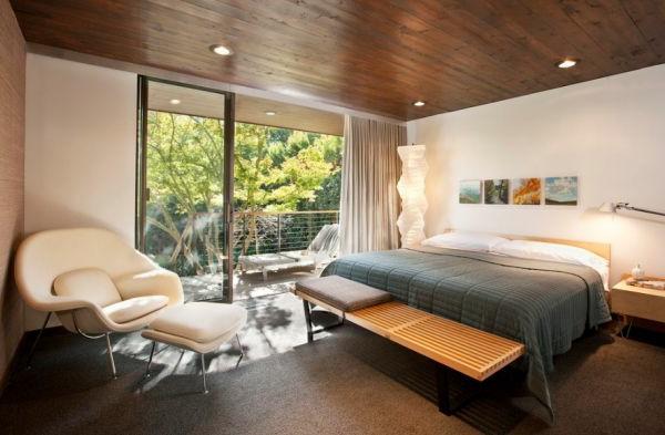 Wohnideen für zeitlose Möbel noguchi schlafzimmer liege