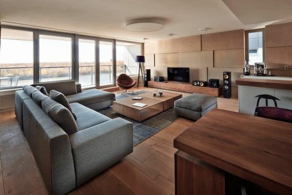 appartement luxuriös und minimalistisch