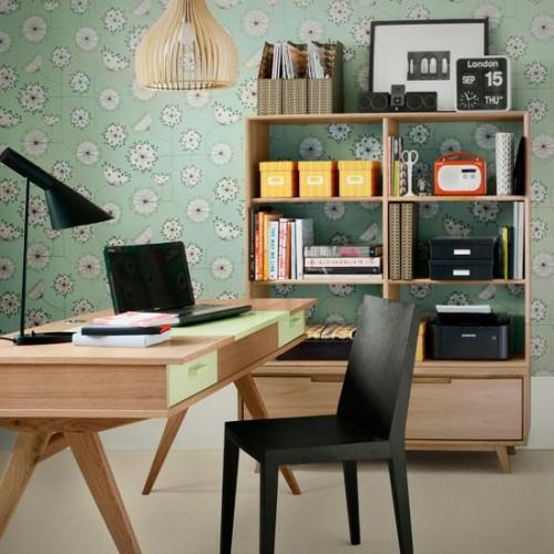 Arbeitsplatzgestaltung 33 schlaue home office ideen f r sie for Buchenholz schreibtisch