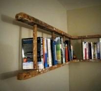 Bücherwand selber bauen  Bücherregale - kreative Ideen für Ihr Zuhause