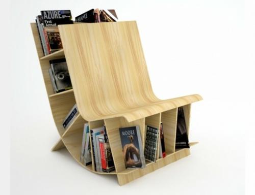 bücherregale - kreative ideen für ihr zuhause, Wohnzimmer dekoo