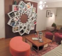 Kreative DIY Ideen für Bücherregale