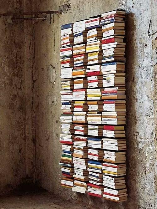 Bücherregal wand selber bauen  Bücherregale - kreative Ideen für Ihr Zuhause