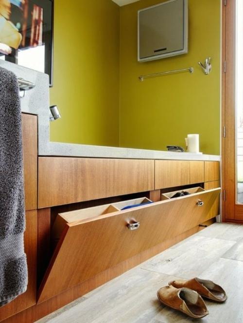 badeinrichtung mit extra stauraum 45 stilvolle ideen f r sie. Black Bedroom Furniture Sets. Home Design Ideas