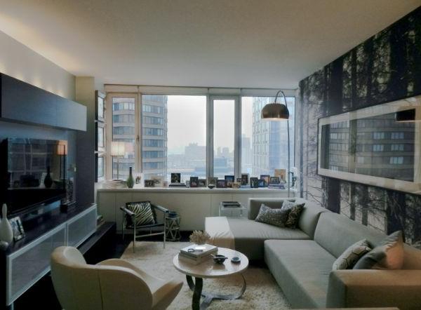 beleuchtung wohnzimmer design idee weiß bogenlampe