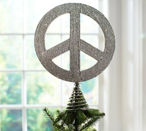 christbaum spitze greenpeace silber