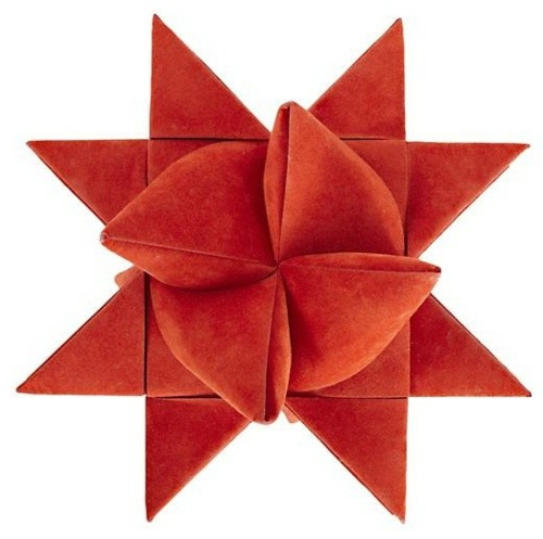 christbaum spitze rote supernova stern