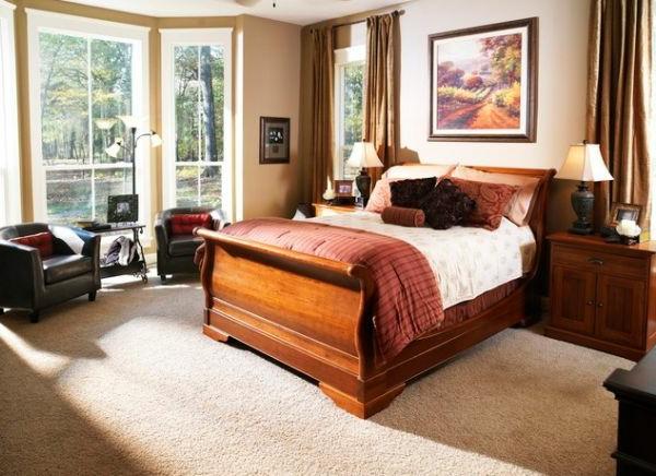 coole Betten im Kolonialstil fabelhaft klein schlafzimmer natürlich lüftung