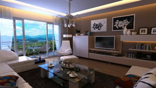 Wenn ihr wohnzimmer einen wunderlichen blick darbietet verwandeln sie