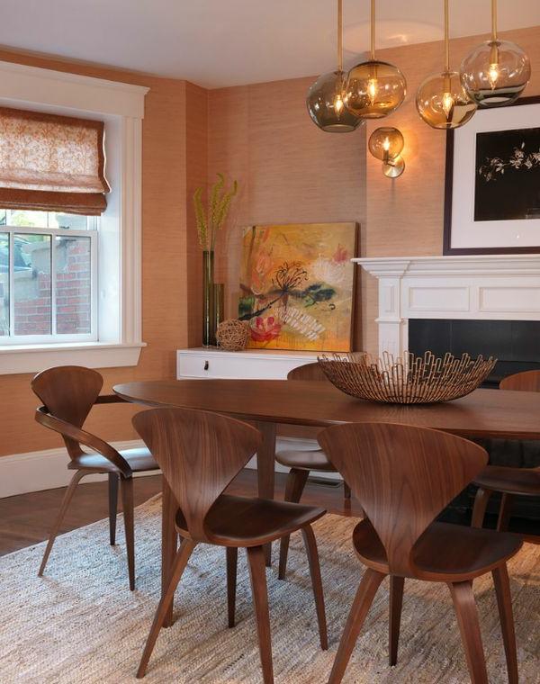 designer tolle stühle cherner aus nussbaumholz