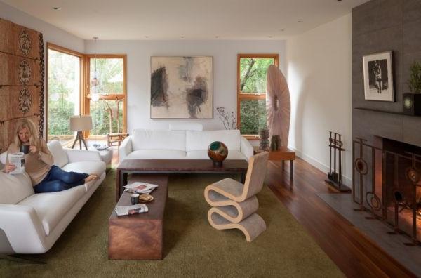 designer stühle künstlerischers interieur