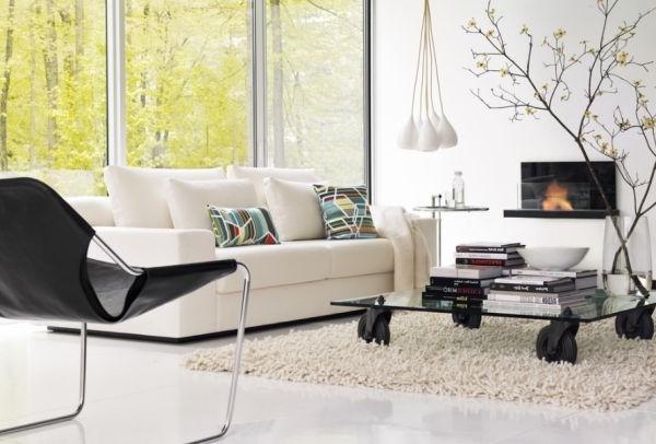 designer paulistano chair aus stahl und schwarzleder