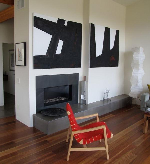 designer stühle schicker jens risom chair in rot