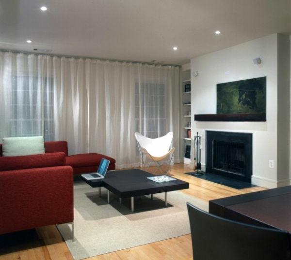 designklassiker minimalistisches interieur schmetterling sessel in weiß