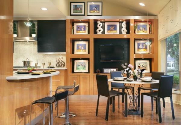 ergonomisch esstisch küche esszimmer holz einrichtung