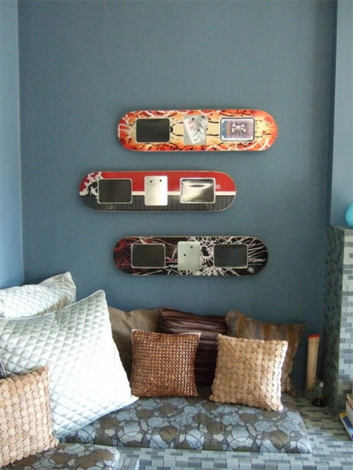 erstaunliche skateboard erzeugnisse 19 diy wohnideen. Black Bedroom Furniture Sets. Home Design Ideas