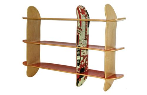 19 DIY Wohnideen U2013 Erstaunliche Skateboard Erzeugnisse ...