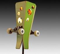 19 DIY Wohnideen – erstaunliche Skateboard Erzeugnisse