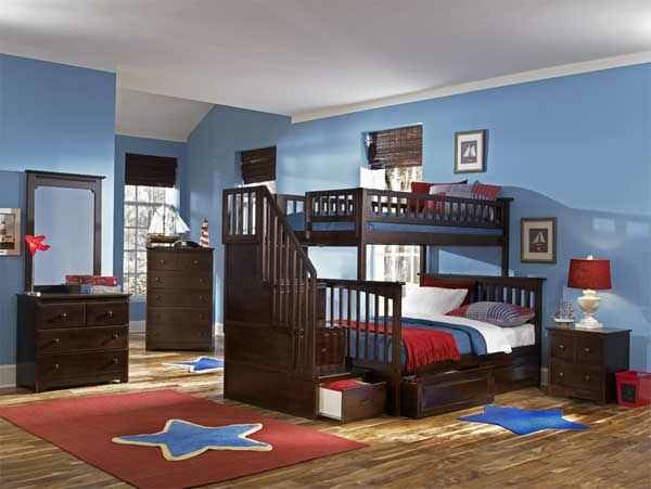 etagenbett 30 funktionelle ideen wie sie mehr platz sparen k nnen. Black Bedroom Furniture Sets. Home Design Ideas