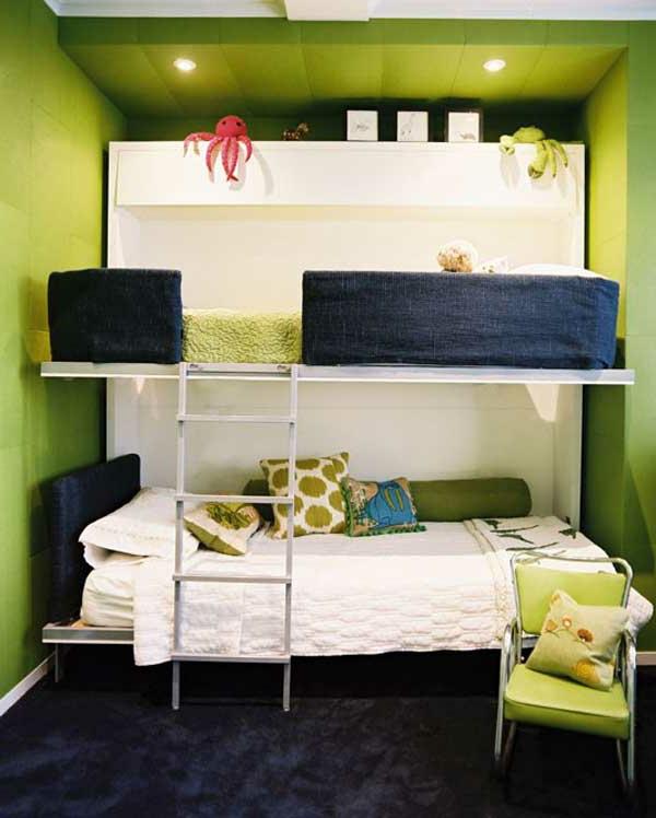 etagenbett 30 funktionelle ideen wie sie mehr platz sparen k nnen. Black Bedroom Furniture Sets. Home Design Ideas