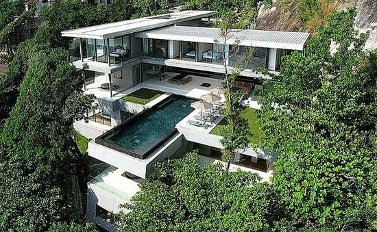 ferienhaus am strand ein luxuri ses urlaubsziel in thailand. Black Bedroom Furniture Sets. Home Design Ideas